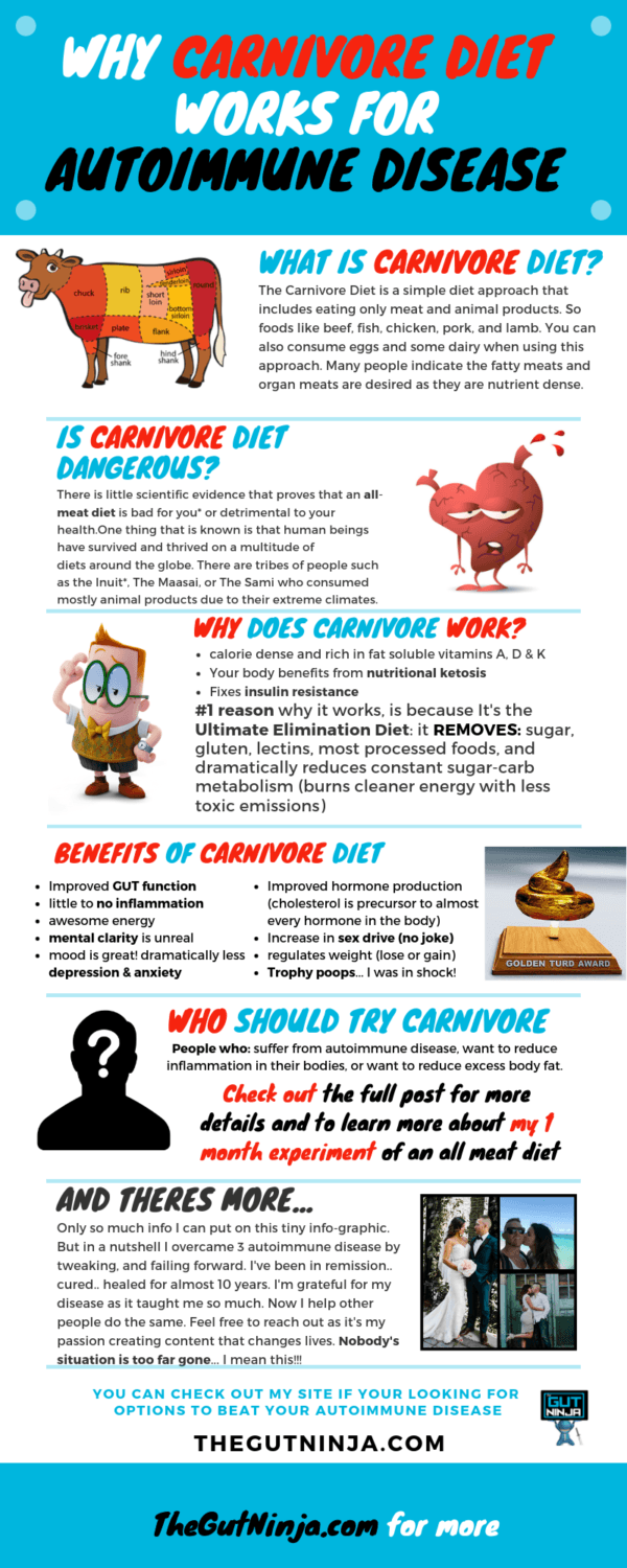 Why The Carnivore Diet works for Autoimmune Disease   The